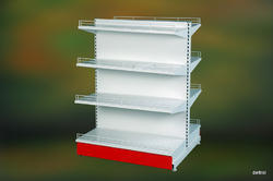 Retail Shelving Double Side Gondola