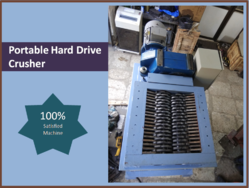 Portable Hard Drive Crusher / Shredder