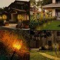 Solar Flame Light Or Solar Garden Light