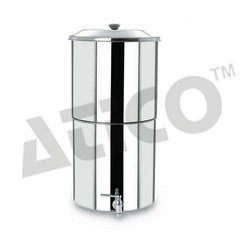 Silver Semi-Automatic Water Filter, for Home