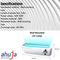 Wall Mounted UV Lamp
