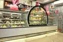 Stainless Steel Cake & Sweet Display Counter