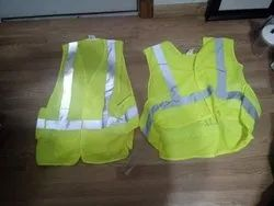 Plain Polyester High Visibility Jackets