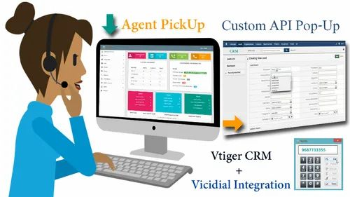 Vicidial With Call Center CRM | Kingasterisk Technologies | Service