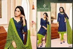 3/4 Sleeve Mallika Salwar Suit Fabric