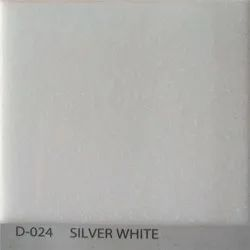 Silver White Acrylic Solid Surface