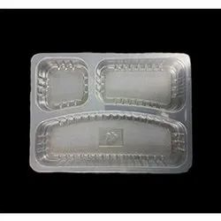 3 Compartments Combo Meal Tray