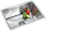 Low Radius Straight Single Bowl Kitchen Sinks