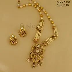 Pearl Traditional Necklace Set