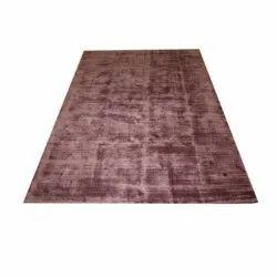 Brown Viscose Cotton Carpet, Size: 170 X 240 Cm
