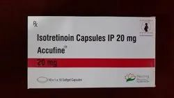 Accufine 20 mg -(Isotretinoin Capsule)