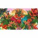 Multicolor Chromojet Printed Carpet