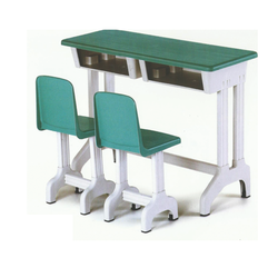 2 Seater Plastic School Benches