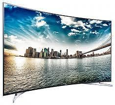 Black Curved Samsung 32 Inch Full HD LED TV