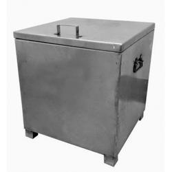Stainless Steel Square Container for Hotel