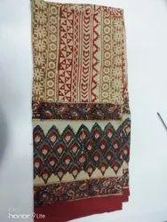 Handmade Cotton Kalamkari Dupatta