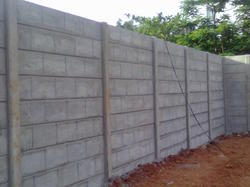 Precast Prestressed Boundary Wall