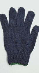 Cotton Knitted Gloves 40gms (Blue)