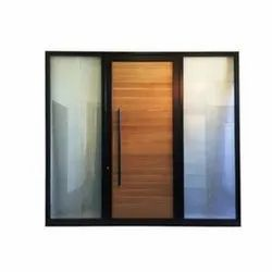 Hinged Office Aluminum Door, For Office,Home, Size/Dimension: 5x3 Feet
