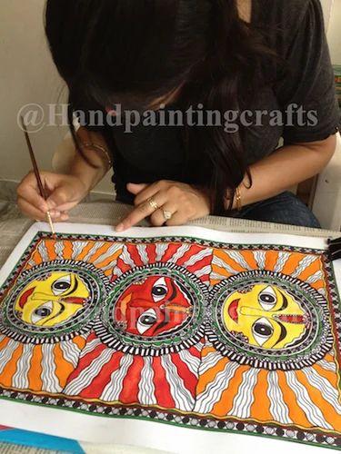 Madhubani Painting Classes, Painting Classes - Handpaintingcrafts