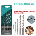 Drill Bit Set For Concrete And Brick Wall Drilling-Drill Bit Set