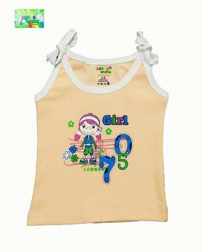 Baby Girl's Casual Vest for Regular Wear