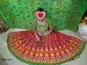 Designer Ladies Cotton Chaniya Choli, Dry Clean