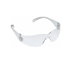 White Clear Goggles