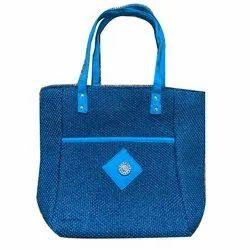 Fancy Jute Shoulder Hand Bag