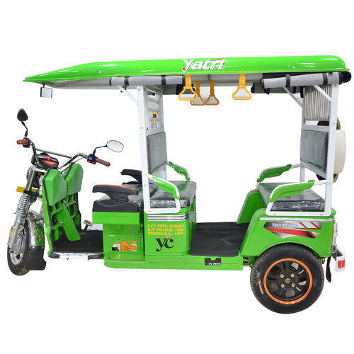 Yatri Deluxe E Rickshaw Commercial Vehicles Amp Three