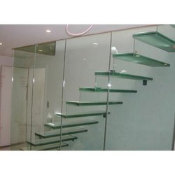 Toughened Glass Work, On Site