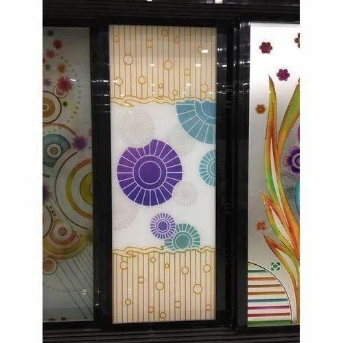 Multicolor Front Door Glass Ajith Glass Agencies Id 14884556773