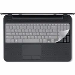Transparent Universal Silicone Keyboard Protector Cover Skin for All Type Laptop (Size 15.6 Inches)
