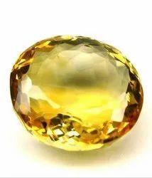 Natural Yellow Topaz Stone Gemstone