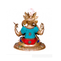Decorative Ganesha Brass Statue