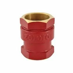 Zoloto Bronze Vertical Lift Check Valves