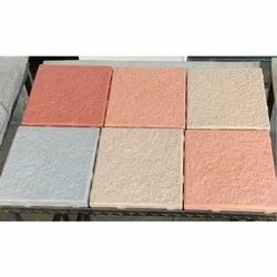 Cement and Concrete Square Paver Block, Thickness: 60 Mm, Dimensions: 8 X 8 Inch