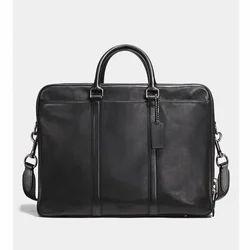 Leather Briefcase Coach