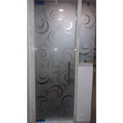 Embossed Door Glass