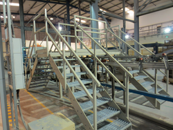 Industrial Staircase Fabrication
