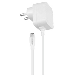 White Galaxy 1.4 AMP Mobile Charger