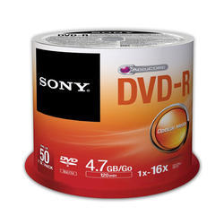 Sony DVD Pack