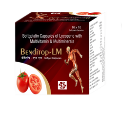 Softgelatin Capsules Of Lycopene With Multivitamin And Multiminerals