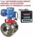 Motorized Pump Testing Control Valve