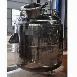 Vertical Stainless Steel Chemical Reactor