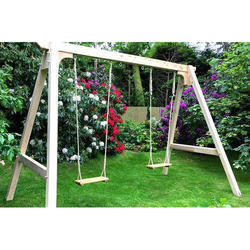Garden Double Playground Swing