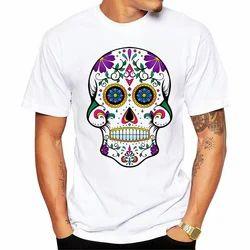 Boys Plain Polyester T-Shirts, Size: Xl