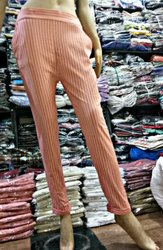 Printed Parallel pants Stripe Pants