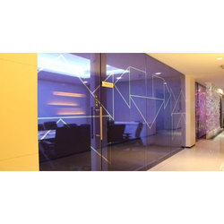 Wall Glass Graphic, For Hotel, Malls