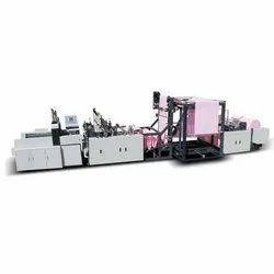 Automatic A3PT- 700 Double Line Cotton Bag Making Machine, Capacity: 80-120 Pieces Per min, 440 V